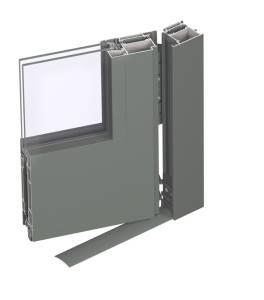 CS68 door outward opening 3d